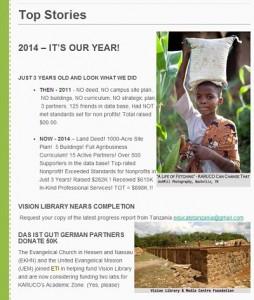 ETI Newsletter Example