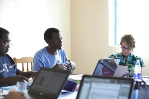 KARUCO Founder and KARUCO Coordinator gear up to share the vision with the ETI Team.