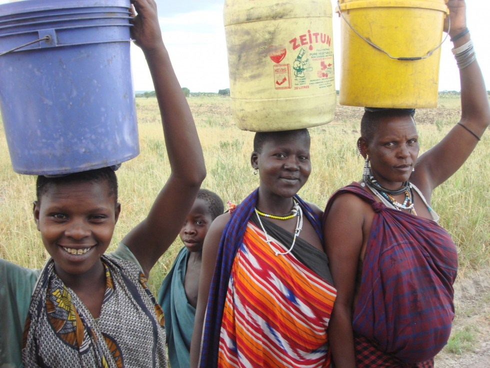 Women Fetch Water