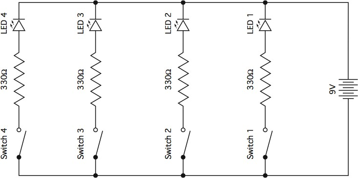 Parallel Electrical Circuit Wiring Diagram - Wiring Diagrams Schema