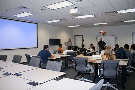 Technology Classrooms College of Education University of Texas