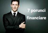 7 porunci financiare