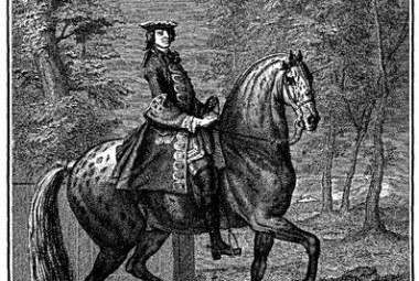 """Tiré de """"L'école de Cavalerie"""" de la Guérinière"""