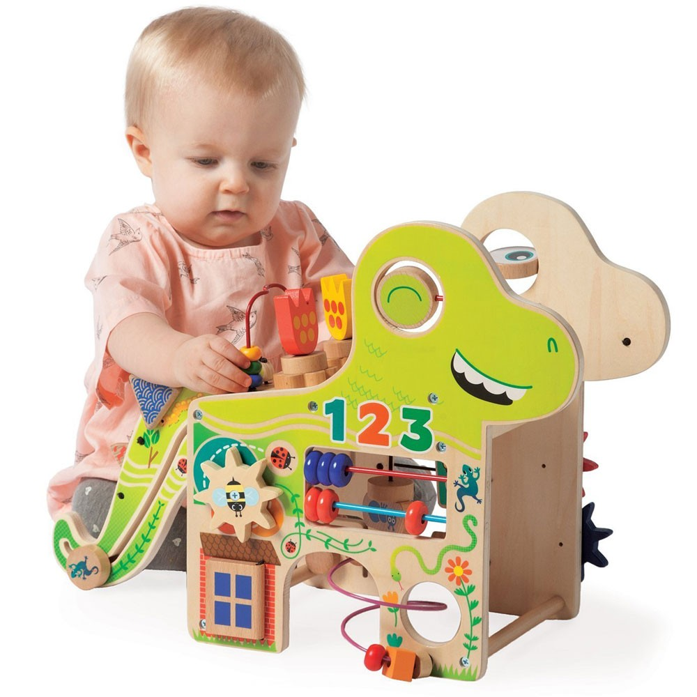 Baby Activity Center Playful Dino Toddler Activity Center