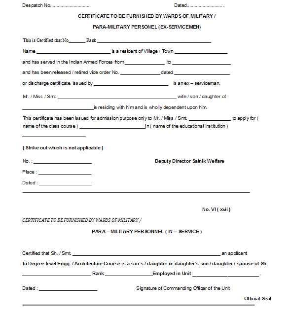 Medical Certificate Format for PTU Admission - 2018 2019 EduVark