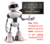 The 4th Industrial Revolution asks schools to get less ...
