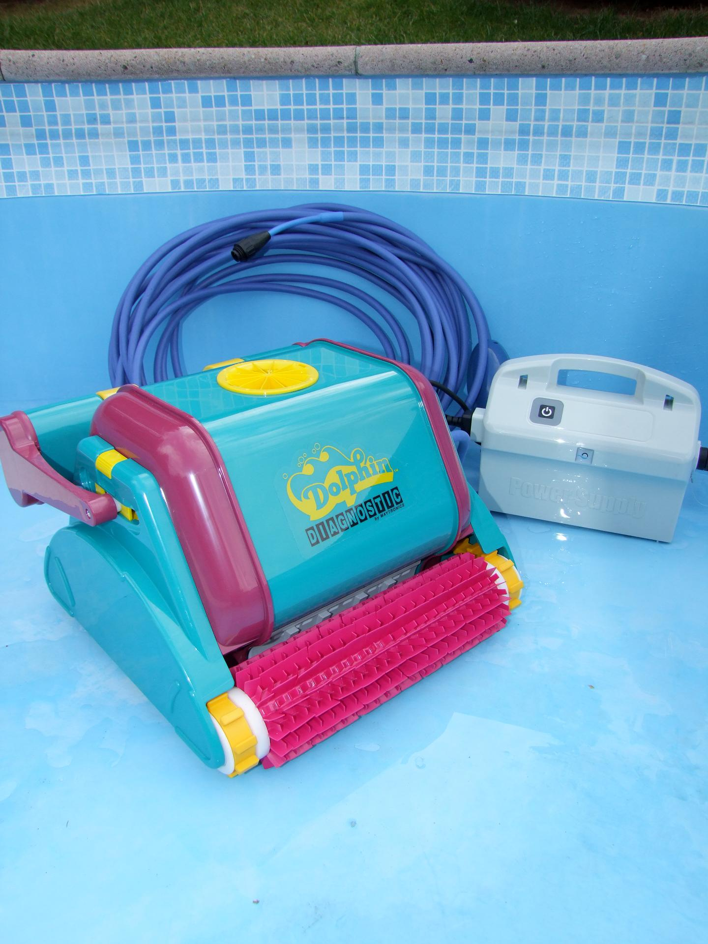 Pool Bodensauger Im Test Dolphin Diagnostic 2001 Pvc Poolroboter 2012 Ebay