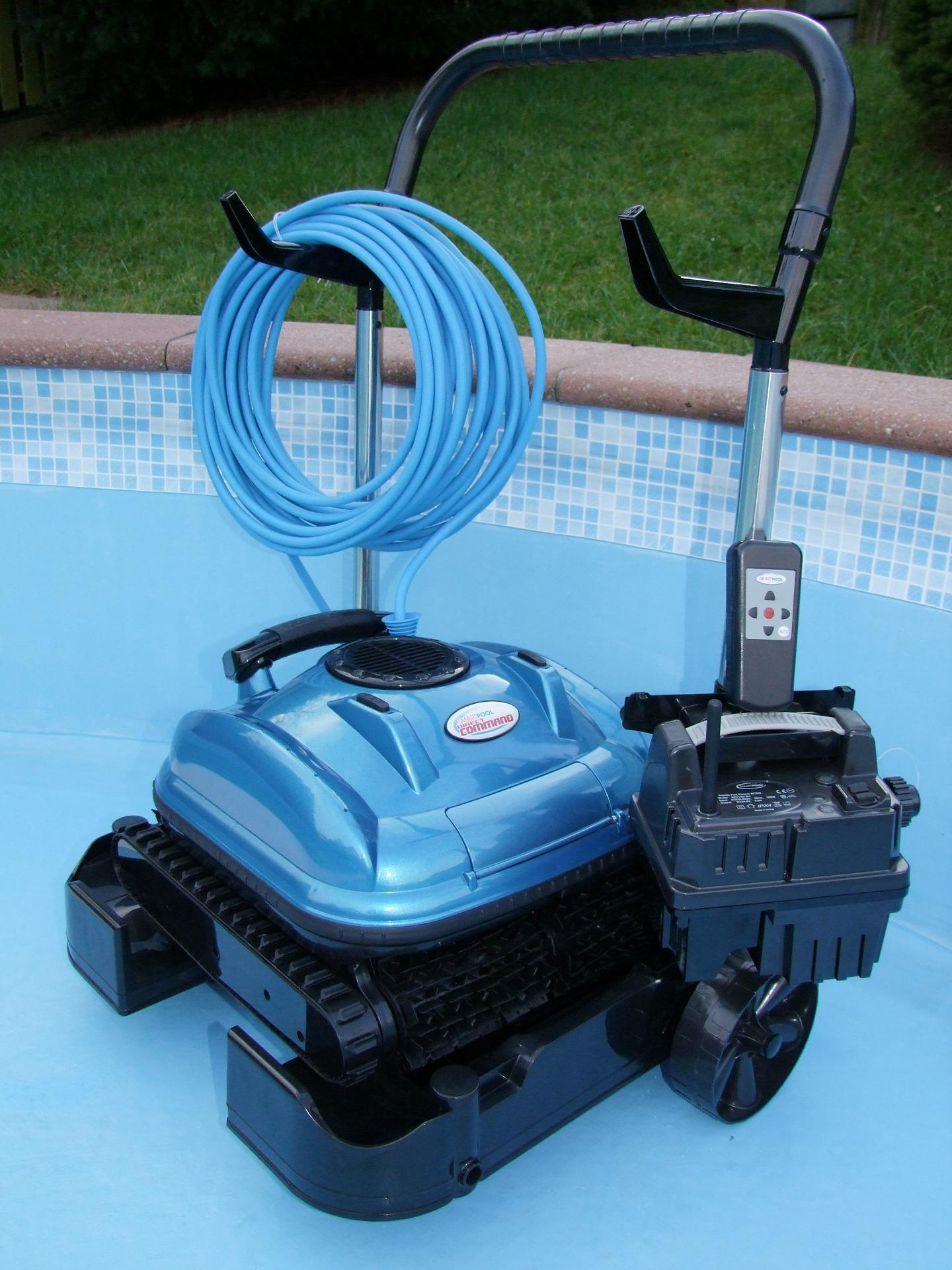 Pool Bodensauger Manuell Smart Pool Robot Cleaner Mit Fernbedienung Poolroboter