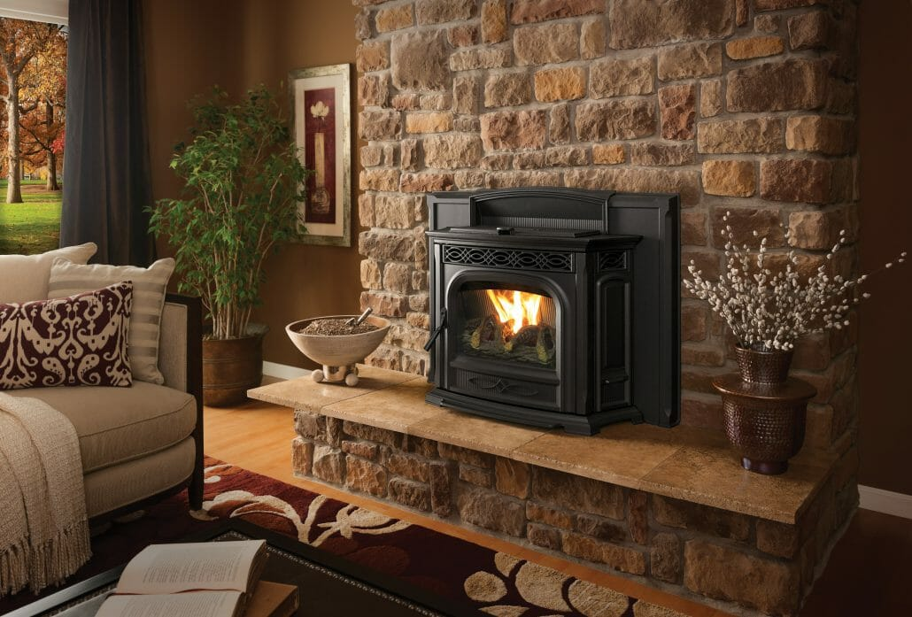 Fireplace Pellet Pellet Stove Inserts - Edwards And Sons Hearth And Home
