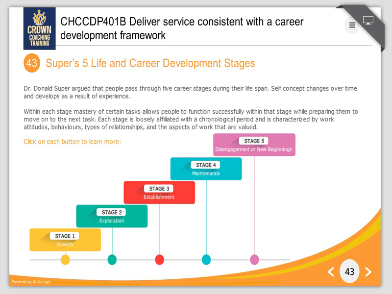 Career Development Stages cvfreepro