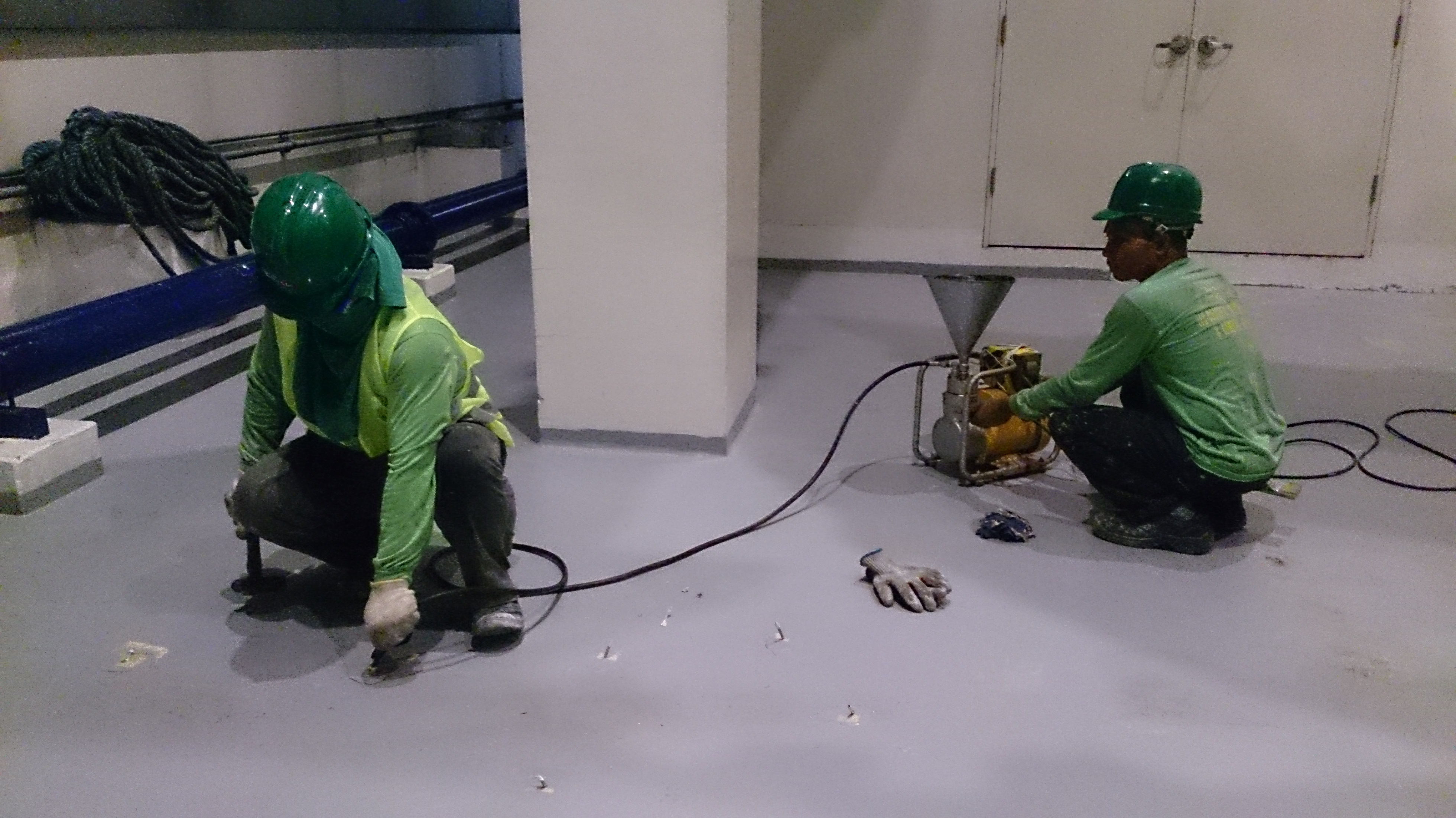 Epoxy Injection Services Eec Coating Waterproofing And General Services Inc