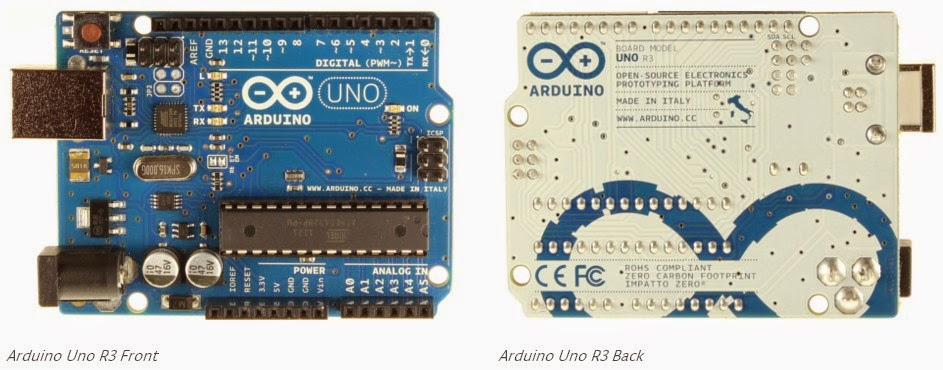 Schematic and Input/Output pins explain for Arduino UNO R3