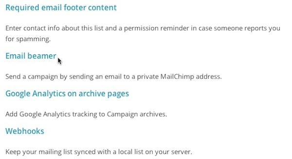 Use Email Beamer to Create a Campaign