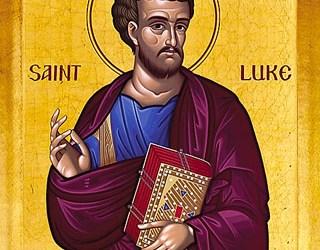 October 18, 2016 Holy Apostle and Evangelist Luke