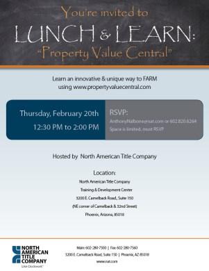 lunchlearn-feb20-pvc