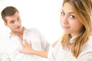 Afgewezen worden door een vrouw