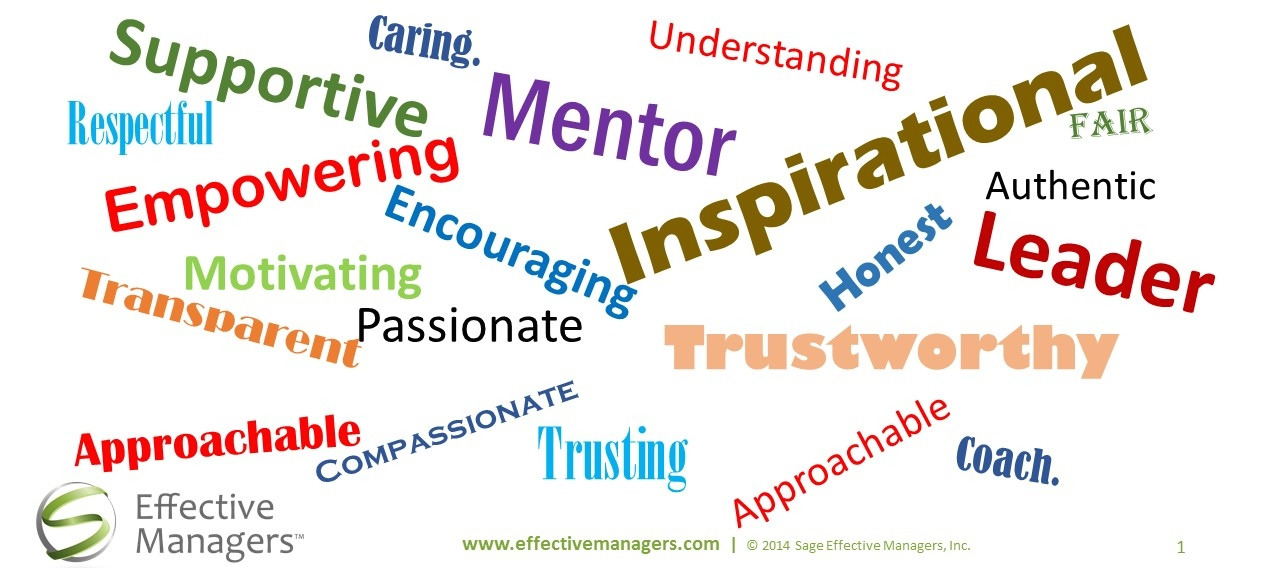 Effective Managers How Would You Describe the Best Manager You Ever