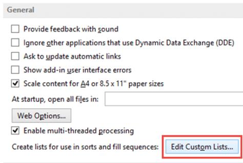 edit custom lists