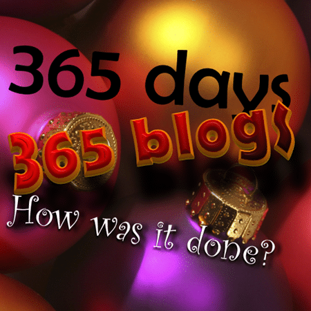 efficiency365: 365 blogs by Dr. Nitin Paranjape. How was it done.