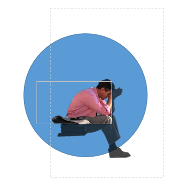 Complex PPT image editing using mouse