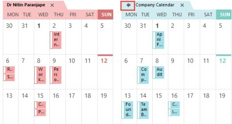 multiple calendars