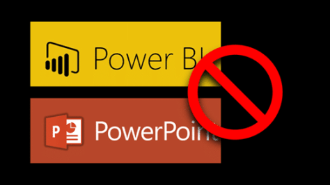 Why not use Power BI with PowerPoint