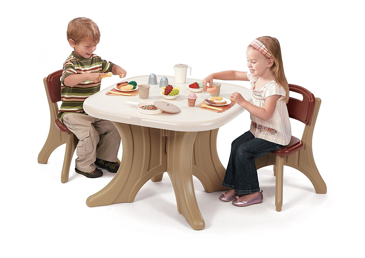Childrens Table And Chair Set Kids Table With Chairs Set Effort Less Mart