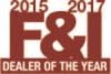 F&I Dealer of the Year