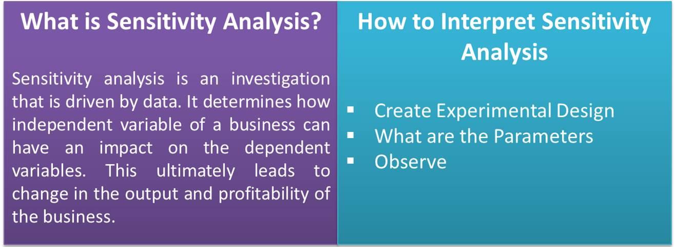Sensitivity Analysis eFinanceManagement - what is an analysis