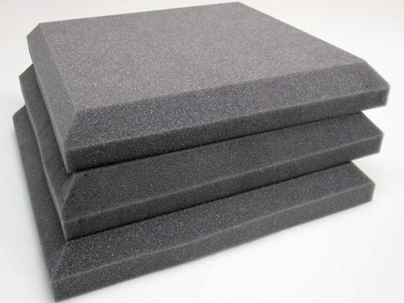 Alfombras Foam Flat Acoustic Foam Soundproofing Tiles, For Room/studio