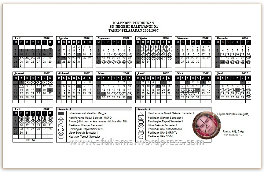 software calendar bali digital