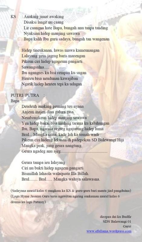 Biantara Bahasa Sunda Tentang Kebersihan Kisahkamuinfo Pendidikan Dan Tugas Teks Pidato Dan Sajak Sungkeman