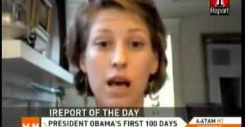 Egberto On HLN Grading President Obama's 1st 100 Days