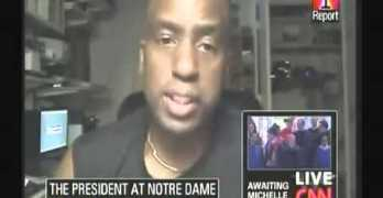 Egberto on CNN on Notre Dame Protest of President Obama's Commencement Speech