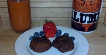 Carrot Biscuits, A healthy Use Of Carrot Grounds From My Juicer