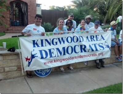 Gay Pride Parade Kingwood Area Democrats KAD