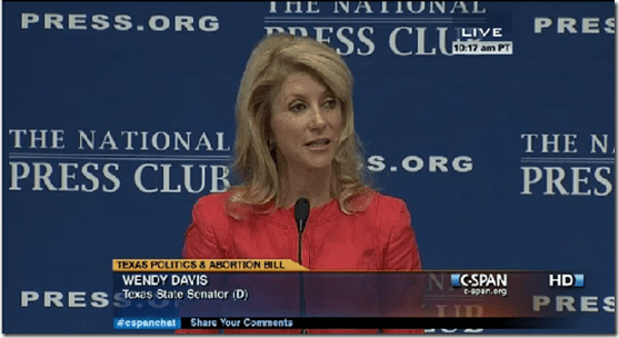 Wendy Davis The National Press Club