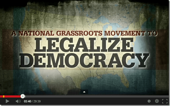 Legalize Democracy mini Documentary