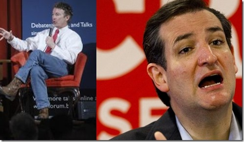 Rand Paul - Ted Cruz