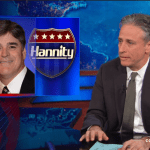 Jon Stewart Sean Hannity The Arbys of News