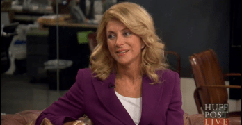 Wendy Davis interviewed on HuffPost Live (VIDEO)