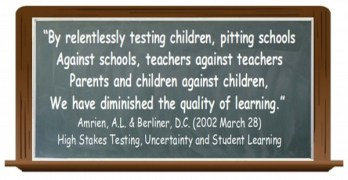 Radar shows blowback against test-heavy school policies by John Young