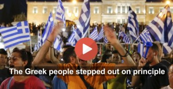 Politics Done Right: Americans need a Greek moment (VIDEO)