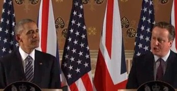 President Obama & UK Prime Minister Press Conference in London (VIDEO)