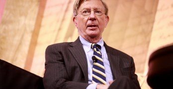 Conservative Republican George Will leaves the GOP