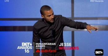 Jesse Williams hell-of-a racial justice speech at BET Awards (VIDEO)
