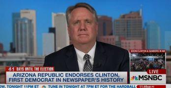 The Arizona Republic endorses Clinton, first Democrat ever. Editor explains why (VIDEO)