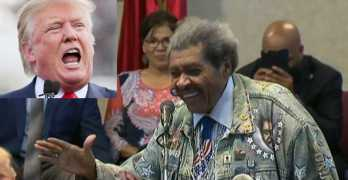 Don King's most offensive statement at Trump event at black church, not the N-Word (VIDEO)