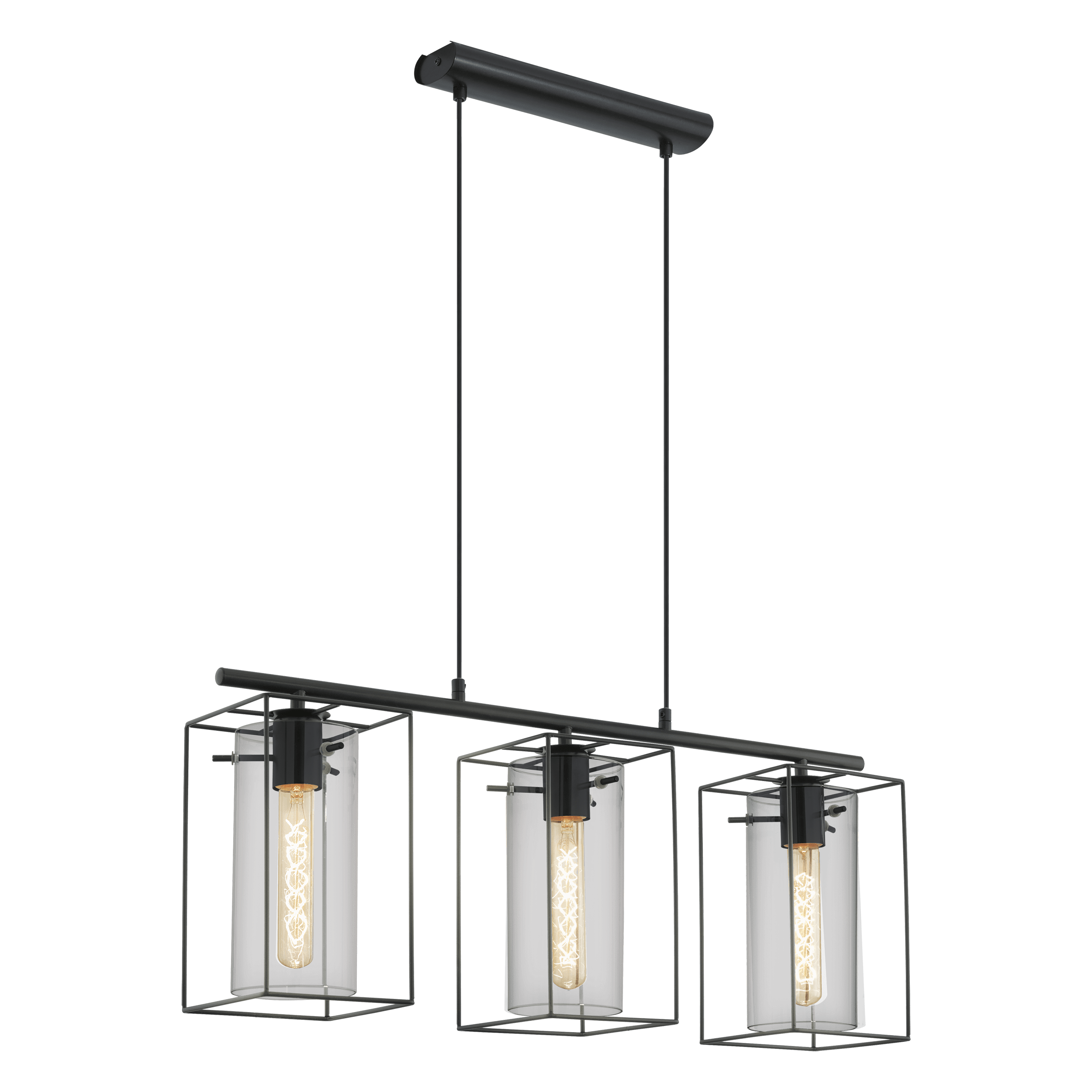 Lustre Moderne Transparent 49496 Loncino Interior Lighting Main Collections
