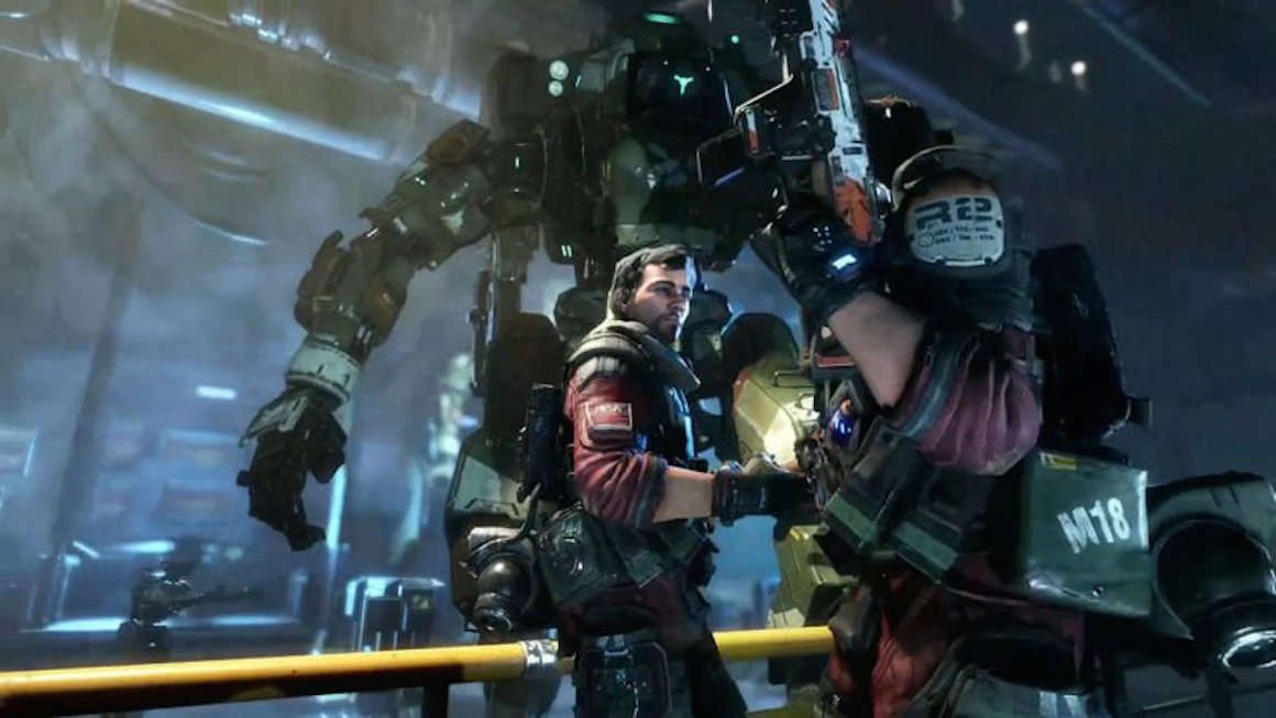 Fall Wallpaper Pc Titanfall 2 Nearly Had A Gender Choice For Its Protagonist